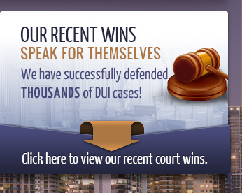 We have successfully defended THOUSANDS of cases